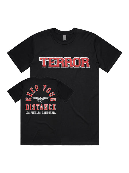Terror - Keep Your Distance Shirt - Merch Limited