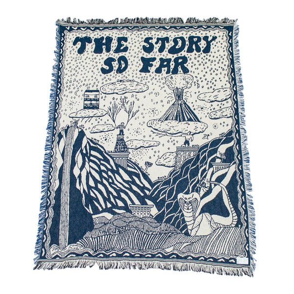 The Story So Far - Knitted Throw Blanket - MerchLimited - 1