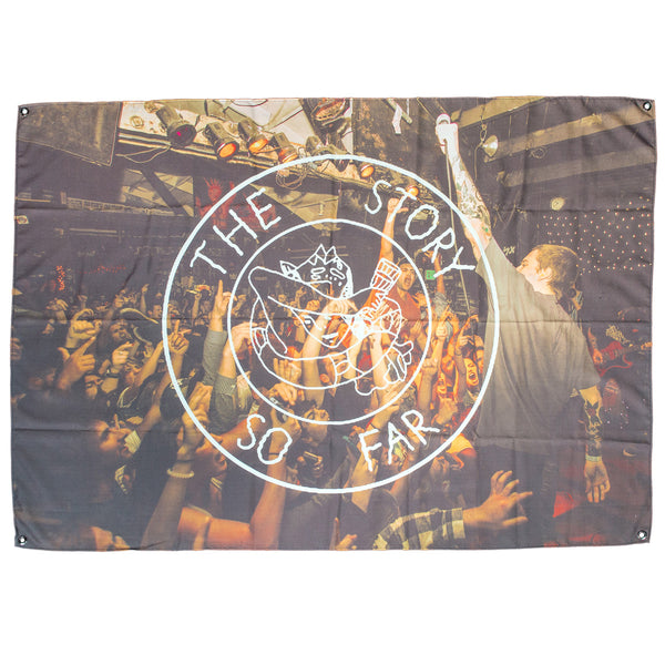 The Story So Far - Live Photo Wall Flag - MerchLimited - 1