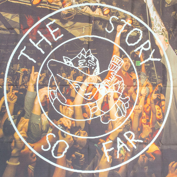 The Story So Far - Live Photo Wall Flag - MerchLimited - 3
