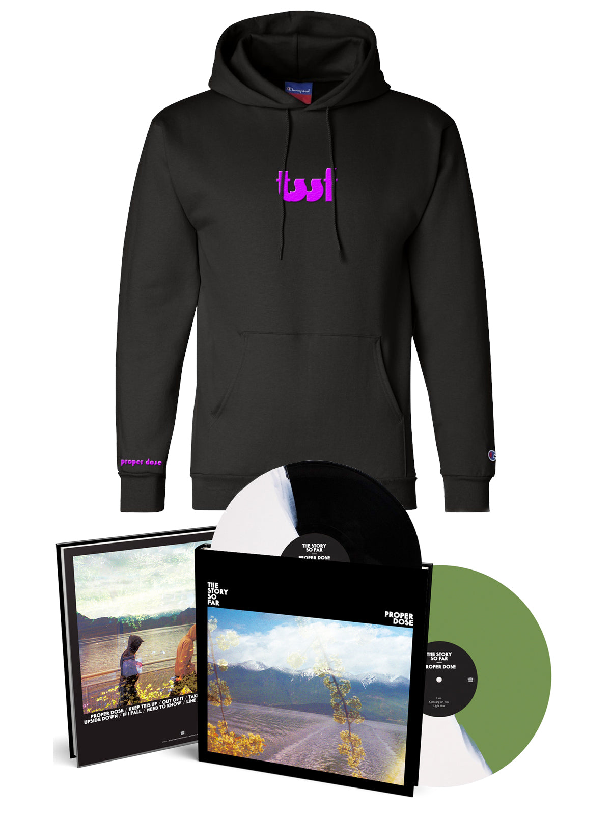 The Story so Far - Proper Dose Deluxe 2xLP and Hoodie - Merch Limited