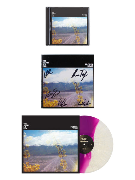 The Story so Far - Proper Dose with Signed Lyric Booklet