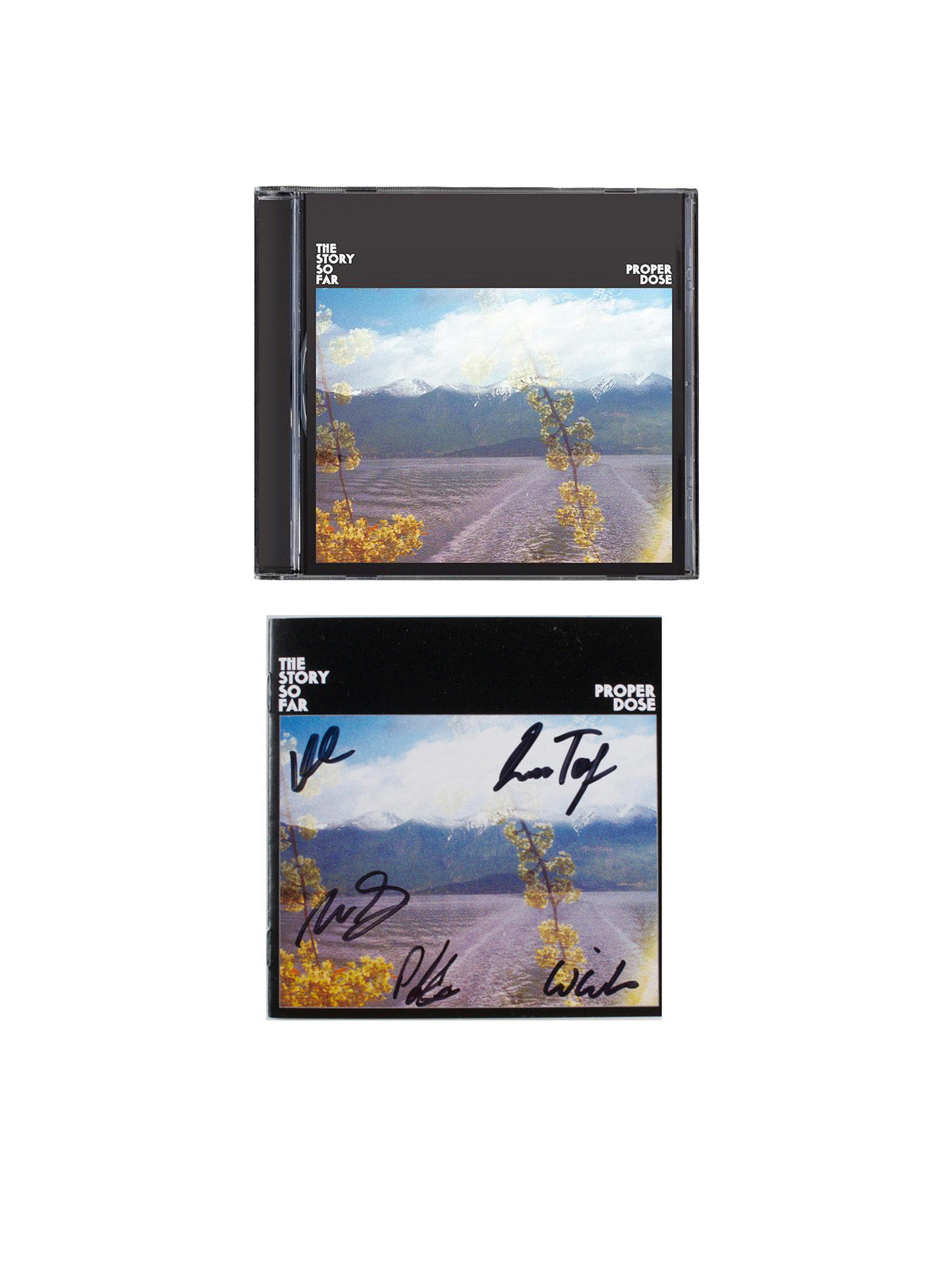 The Story so Far - Proper Dose with Signed Lyric Booklet - Merch Limited