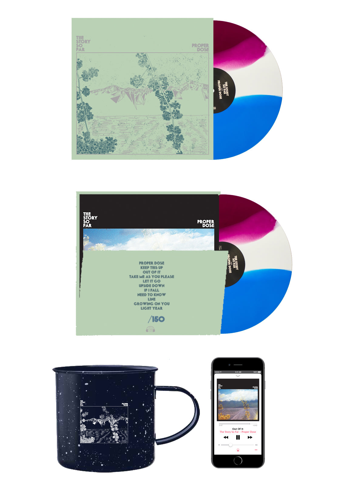 The Story so Far - Proper Dose Mug Bundle - Merch Limited