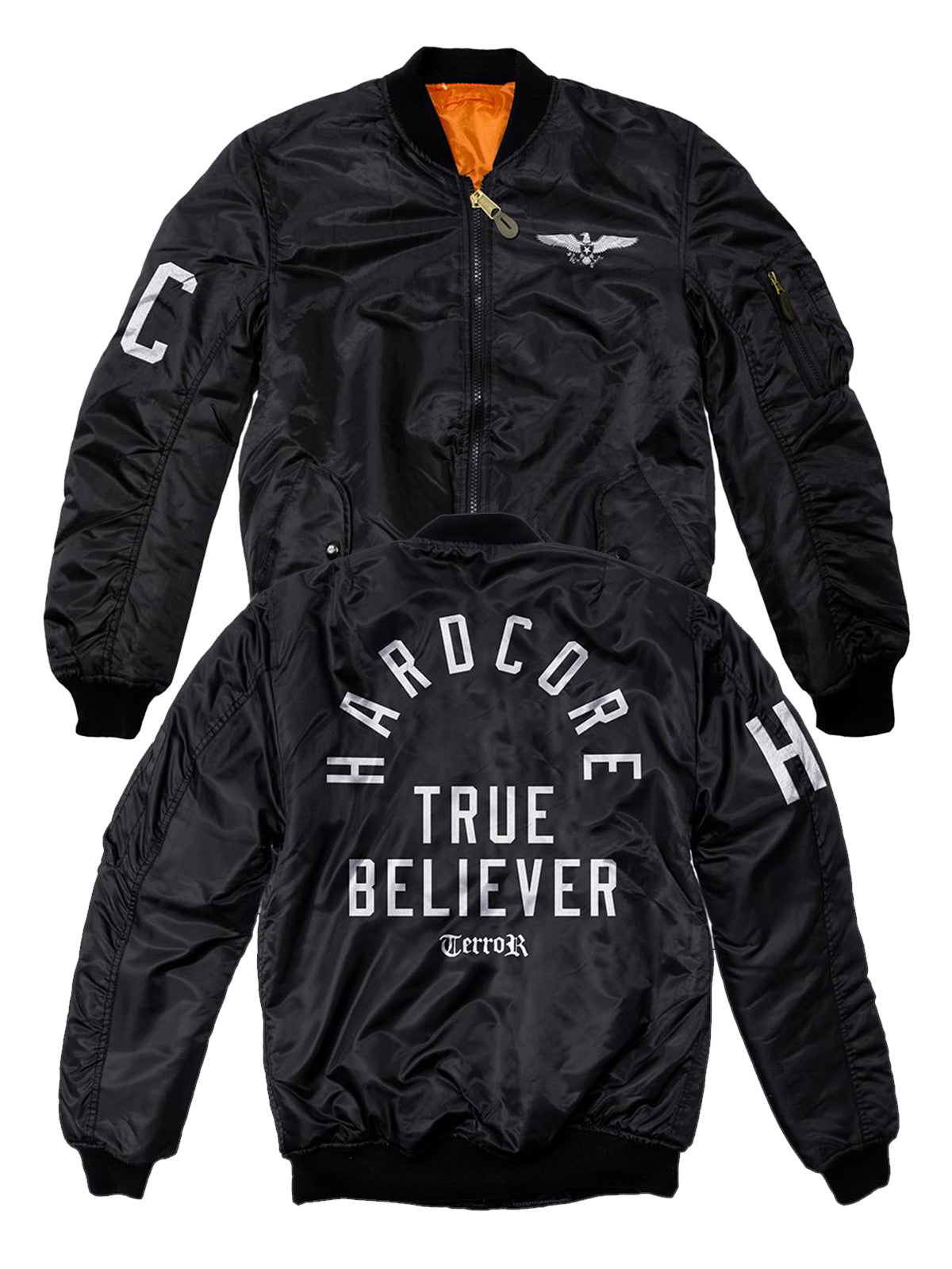 Terror - HC Bomber Jacket - Merch Limited