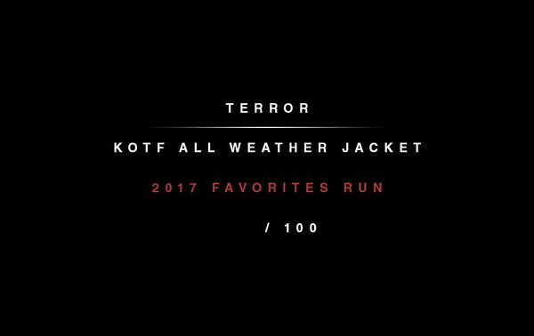 Terror - KOTF All Weather Camo Jacket - Merch Limited