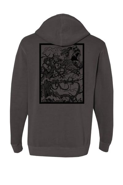 The Devil Wears Prada - Wolf Pigment Dyed Hoodie