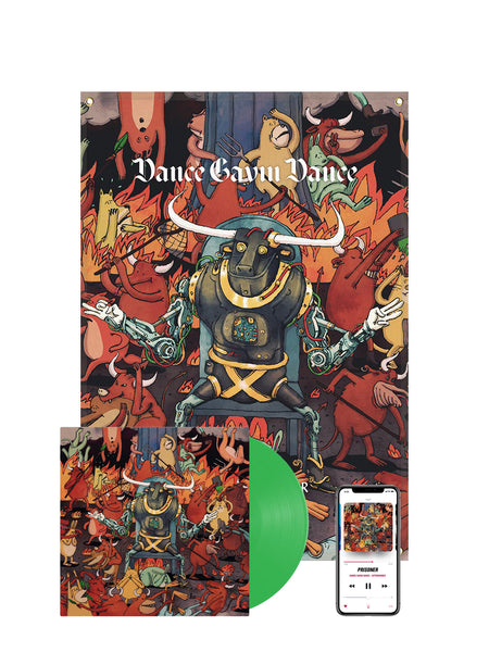 Dance Gavin Dance - Afterburner Wall Flag Bundle - SHIPS JULY 30