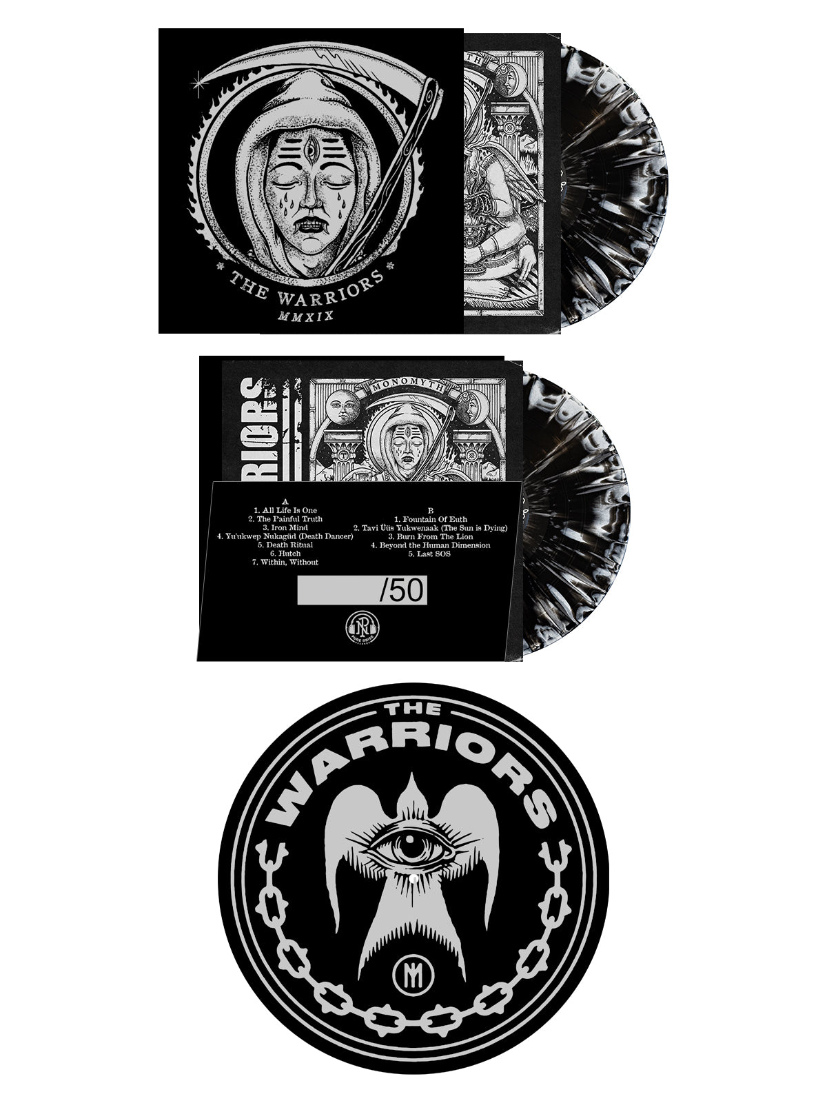 The Warriors - MMXIX Slipmat Bundle - SHIPS ON FEBRUARY 5 - Merch Limited