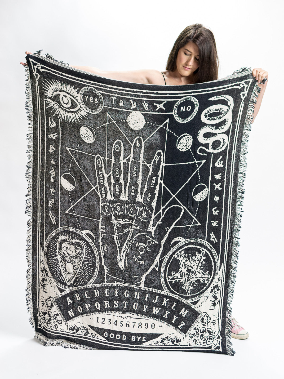 MLTD Exclusive - Palmistry Throw Blanket - MerchLimited - 1