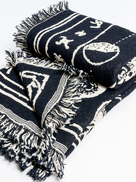 MLTD Exclusive - Palmistry Throw Blanket - Merch Limited