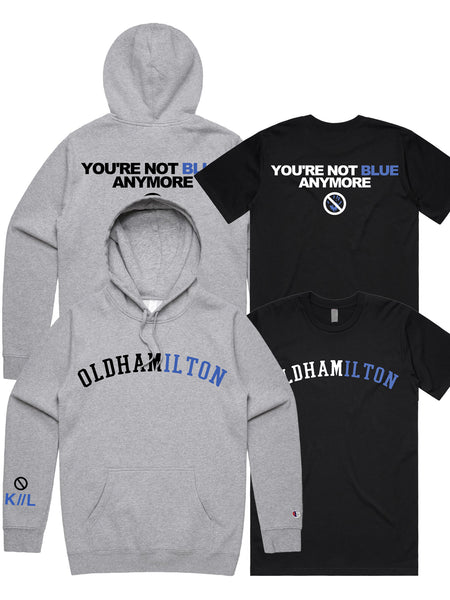 You're Not Blue Anymore - Merch Limited