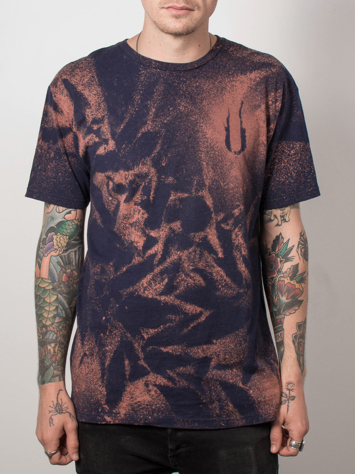 August Burns Red - Stencil Bleach Shirt - Merch Limited