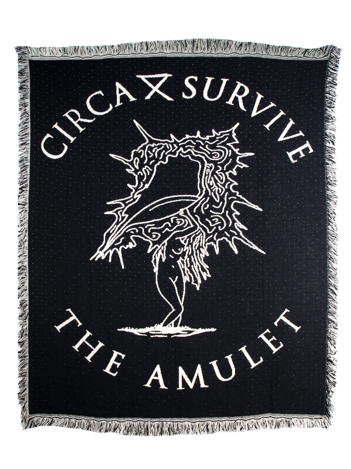 Circa Survive - The Amulet Woven Blanket - Merch Limited
