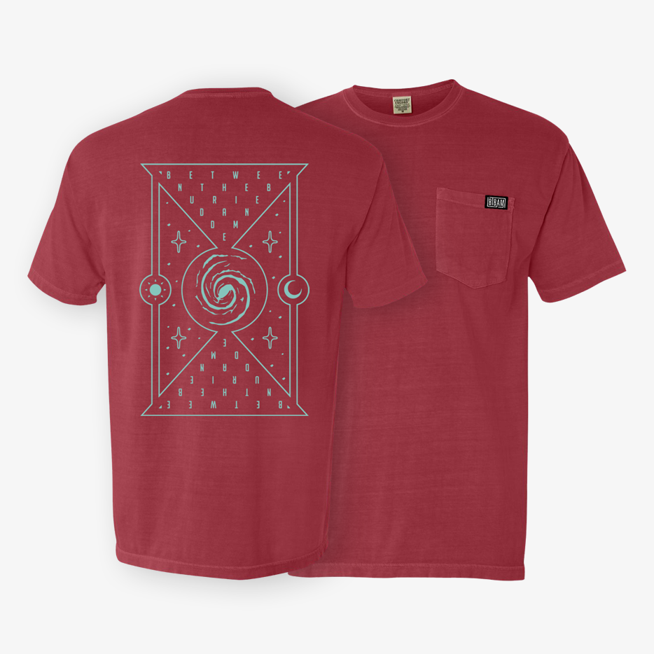 Between the Buried and Me - Hem Tag Pocket Shirt - Merch Limited