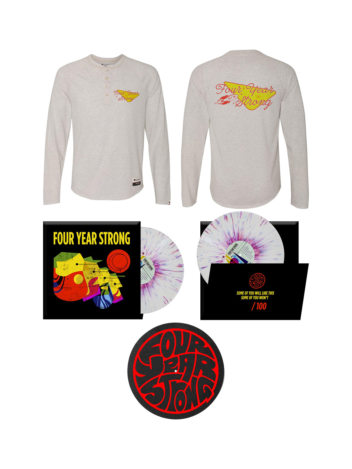 Four Year Strong - Some of You Will Like This Bundle - Merch Limited