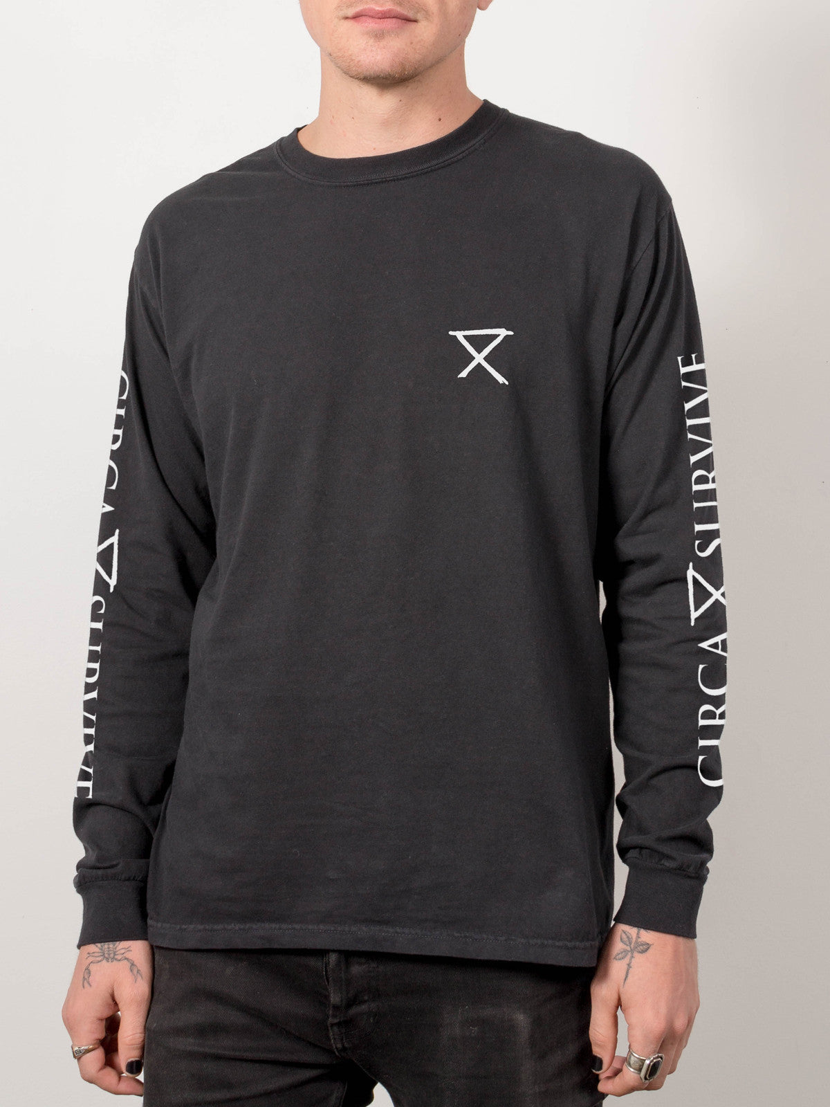 Circa Survive - Pigment Dyed Longsleeve - Merch Limited