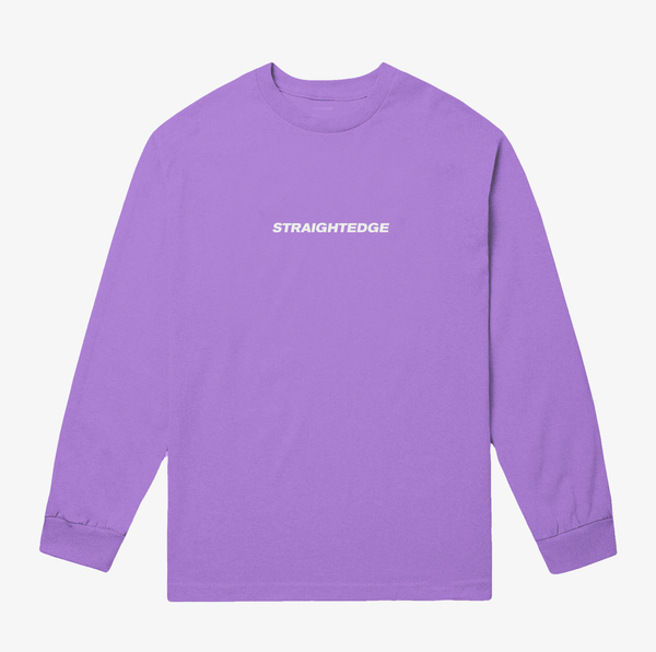 Diamond Cut - Straightedge Comfort Colors Long Sleeve - Merch Limited