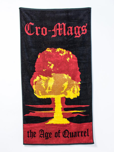 Cro-Mags - Age of Quarrel Beach Towel - Merch Limited