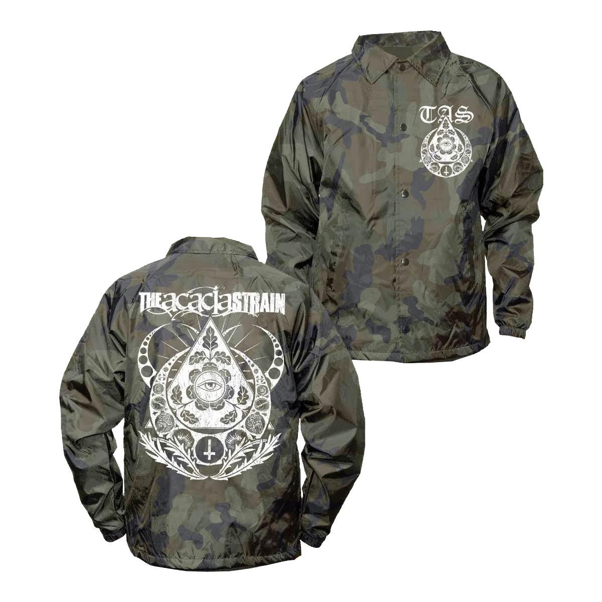 The Acacia Strain - Camo Windbreaker - Merch Limited