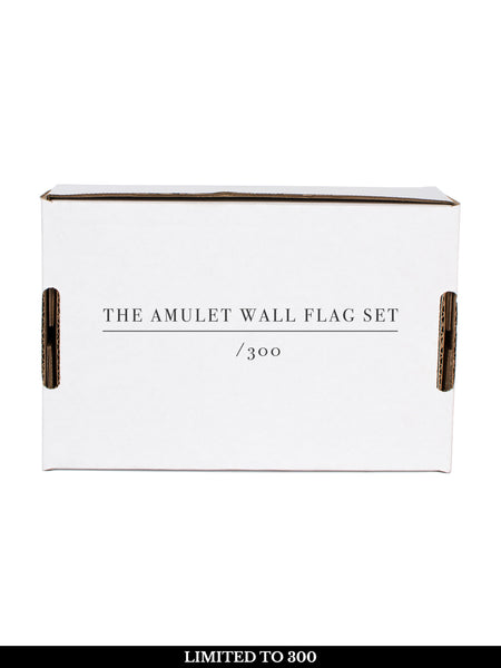 Circa Survive - The Amulet: Wall Flag Set + Free Album Download - Merch Limited