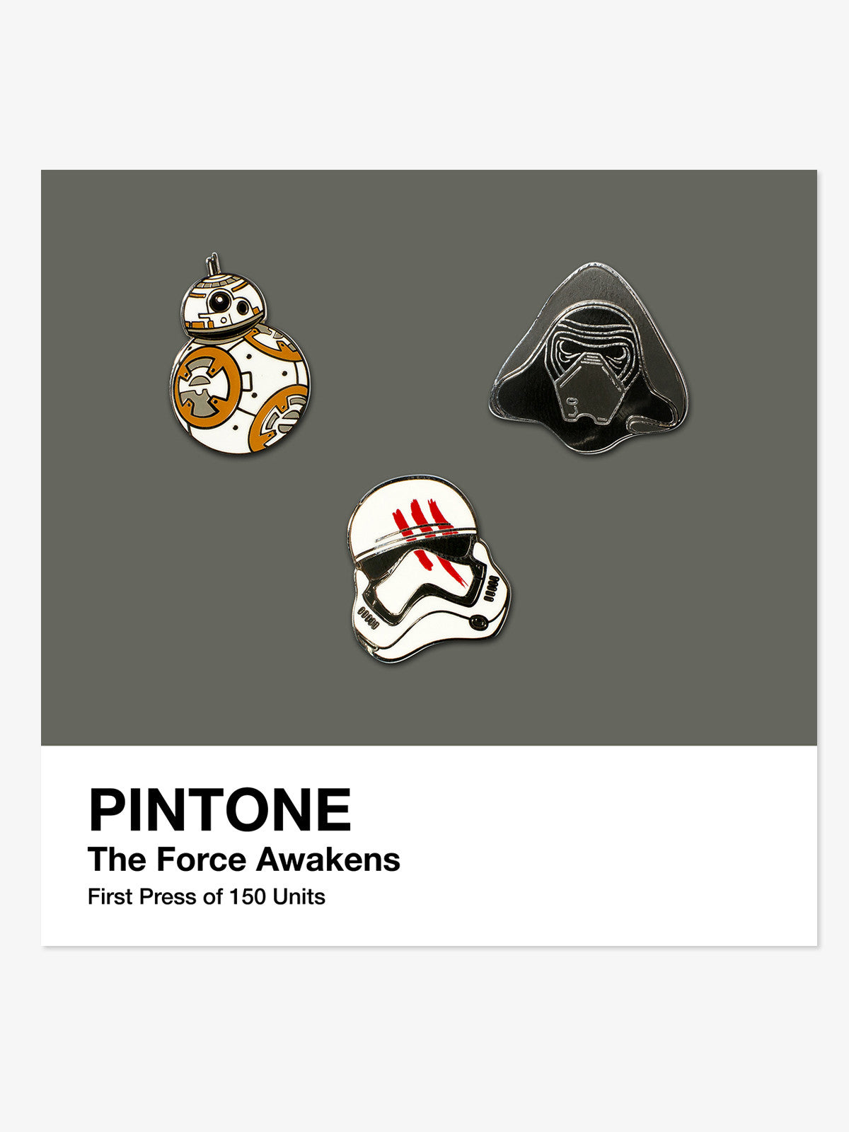 Pintone - The Force Awakens Pin Set - Merch Limited