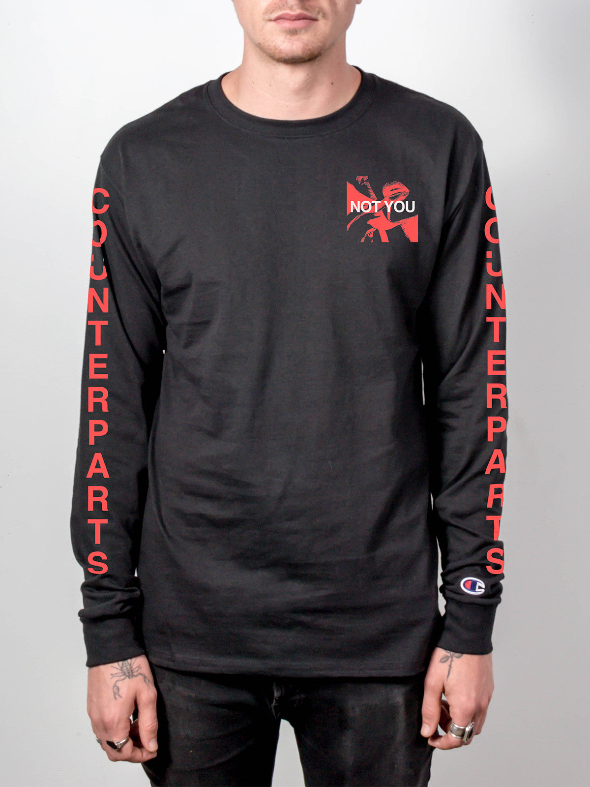 Counterparts - Champion Longsleeve & Digital Album Download - Merch Limited