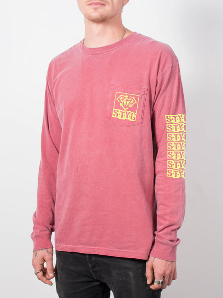 Stick To Your Guns - Pigment Dyed Pocket Long Sleeve - Merch Limited