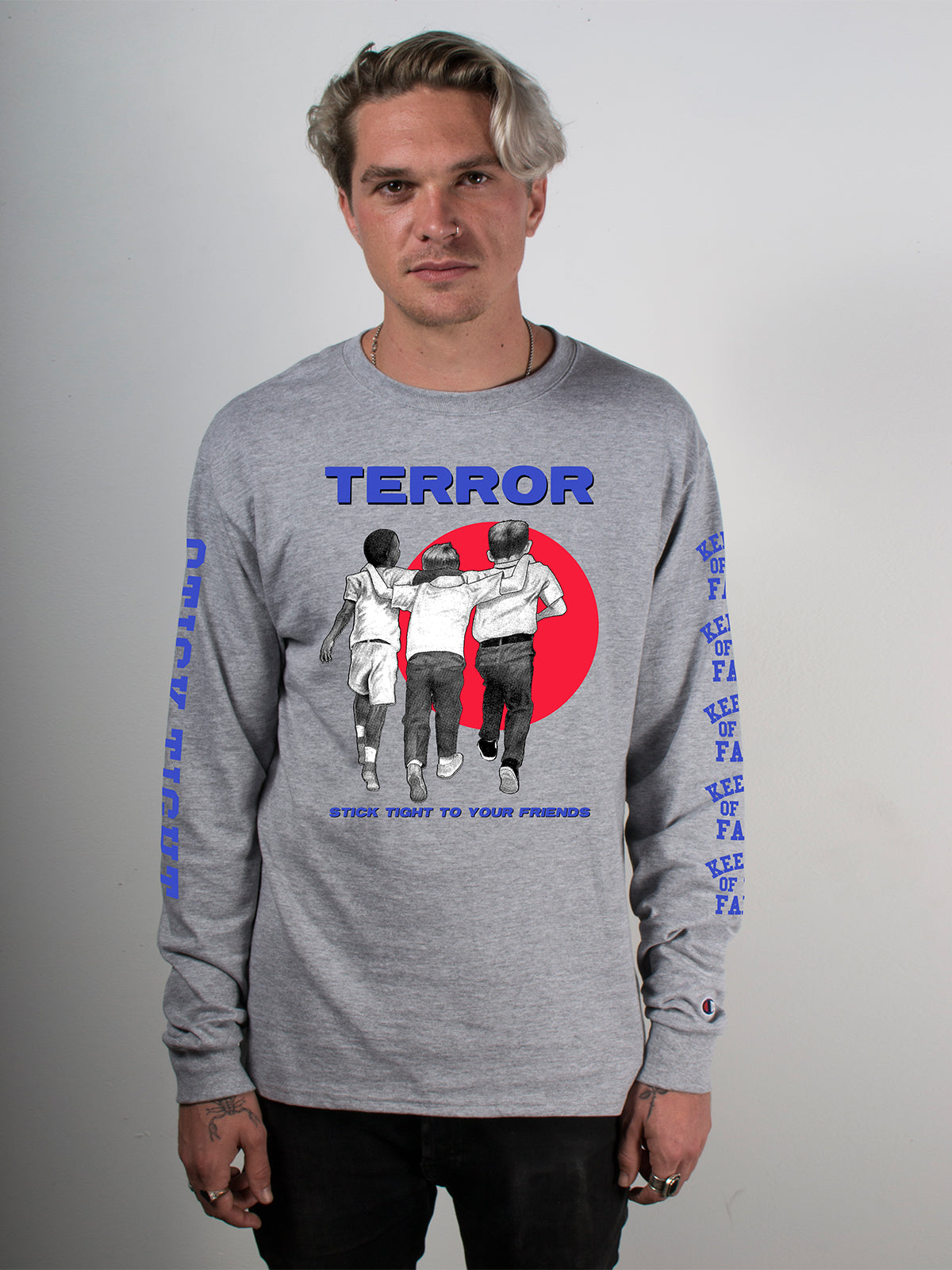 Terror - Stick Tight Longsleeve - Merch Limited