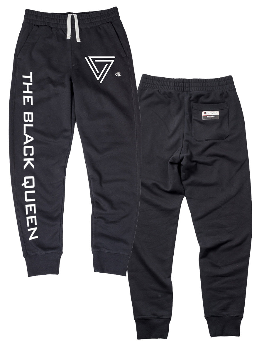 The Black Queen - Logo Champion Joggers - Merch Limited