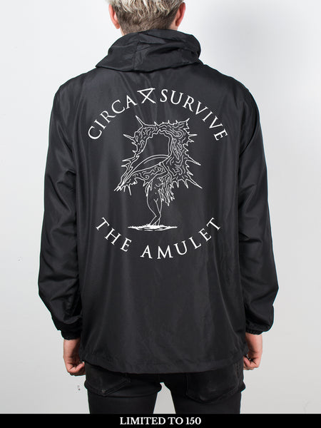 Circa Survive - The Amulet: Zip-Up Windbreaker + Free Album Download