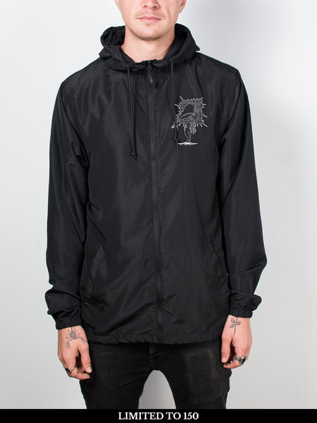 Circa Survive - The Amulet: Zip-Up Windbreaker + Free Album Download - Merch Limited