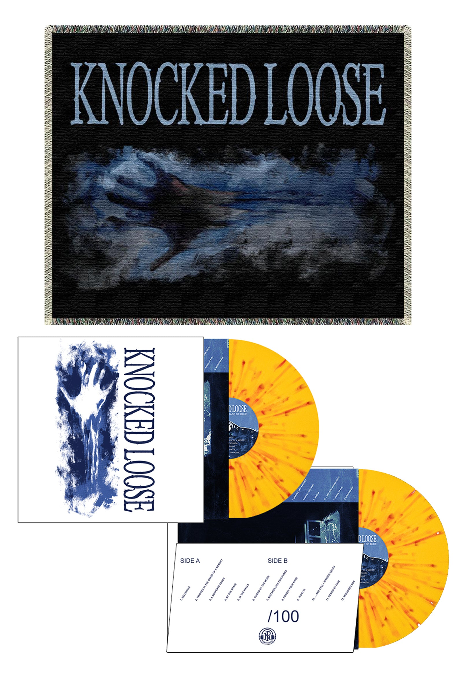 Knocked Loose - A Different Shade of Blue Preorder Bundle #2 - Merch Limited