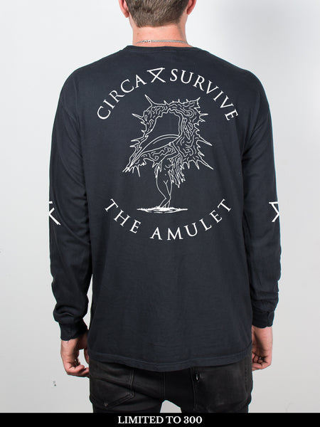 Circa Survive - The Amulet: Pigment Dyed Longsleeve + Free Album Download