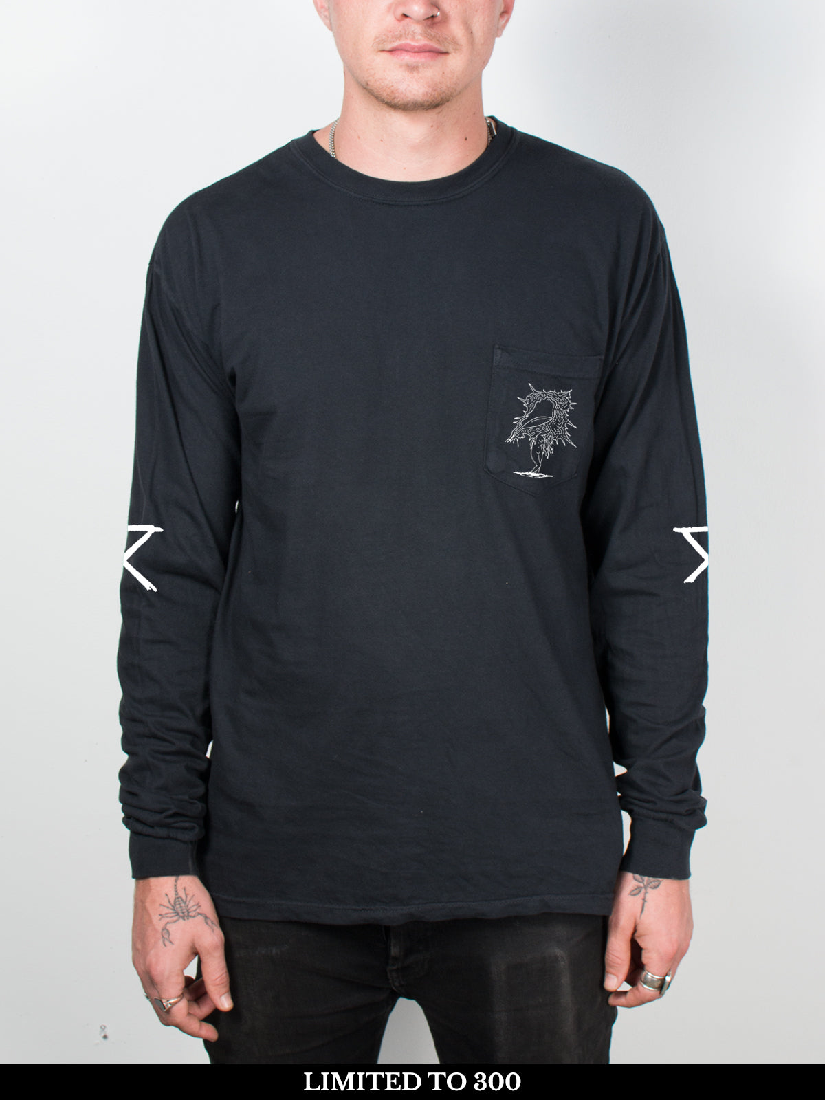 Circa Survive - The Amulet: Pigment Dyed Longsleeve + Free Album Download - Merch Limited