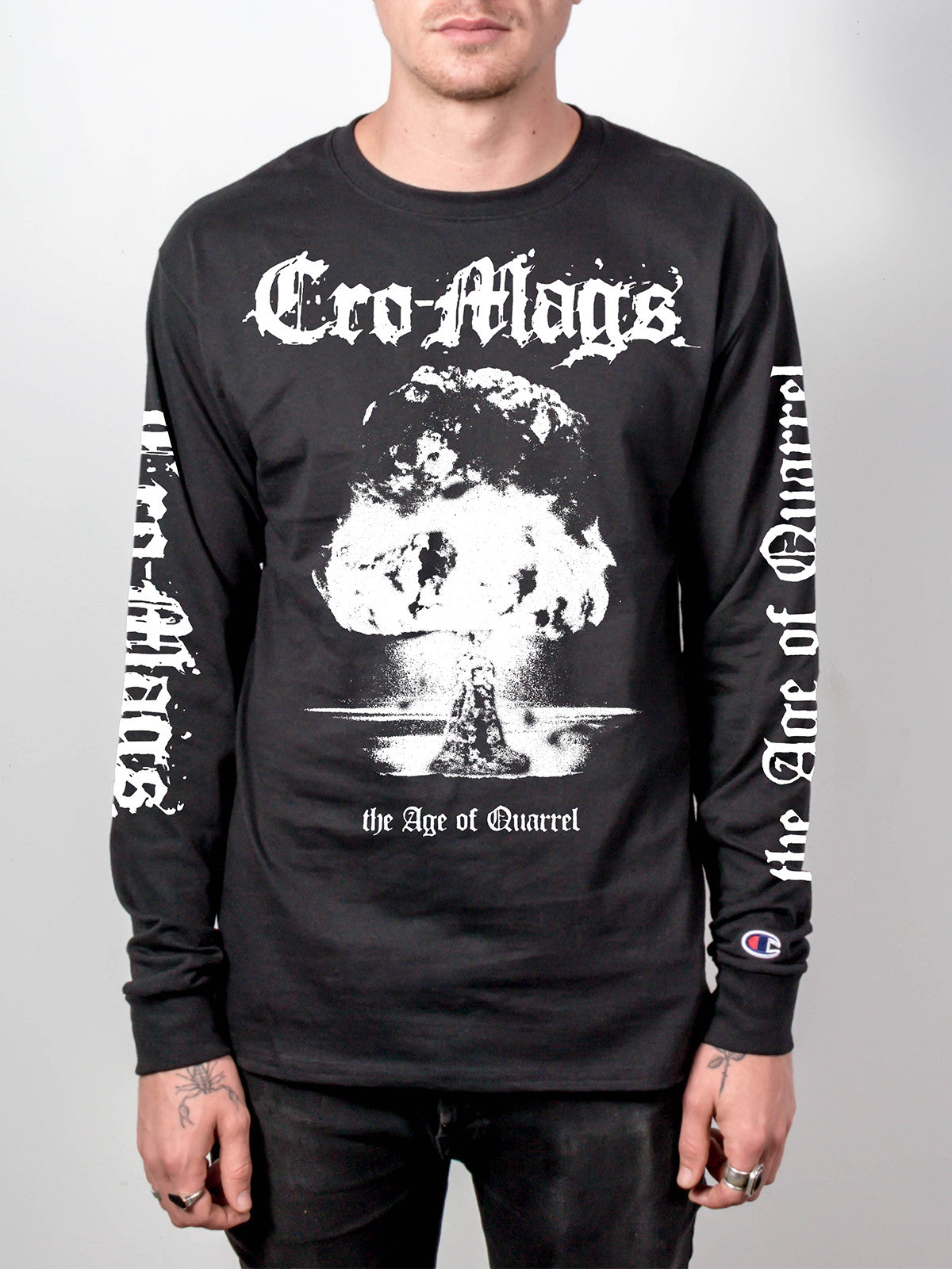 Cro-Mags - Age of Quarrel Champion Longsleeve - Merch Limited