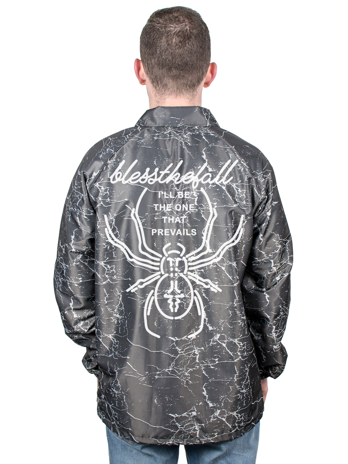 Blessthefall - Windbreaker + Album Download - Merch Limited