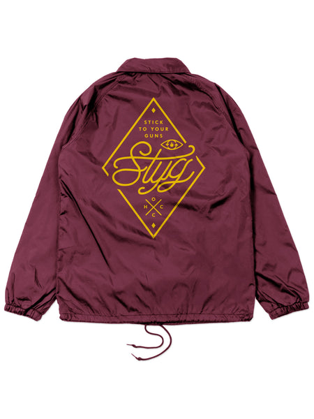 Stick To Your Guns - Cursive Windbreaker - Merch Limited