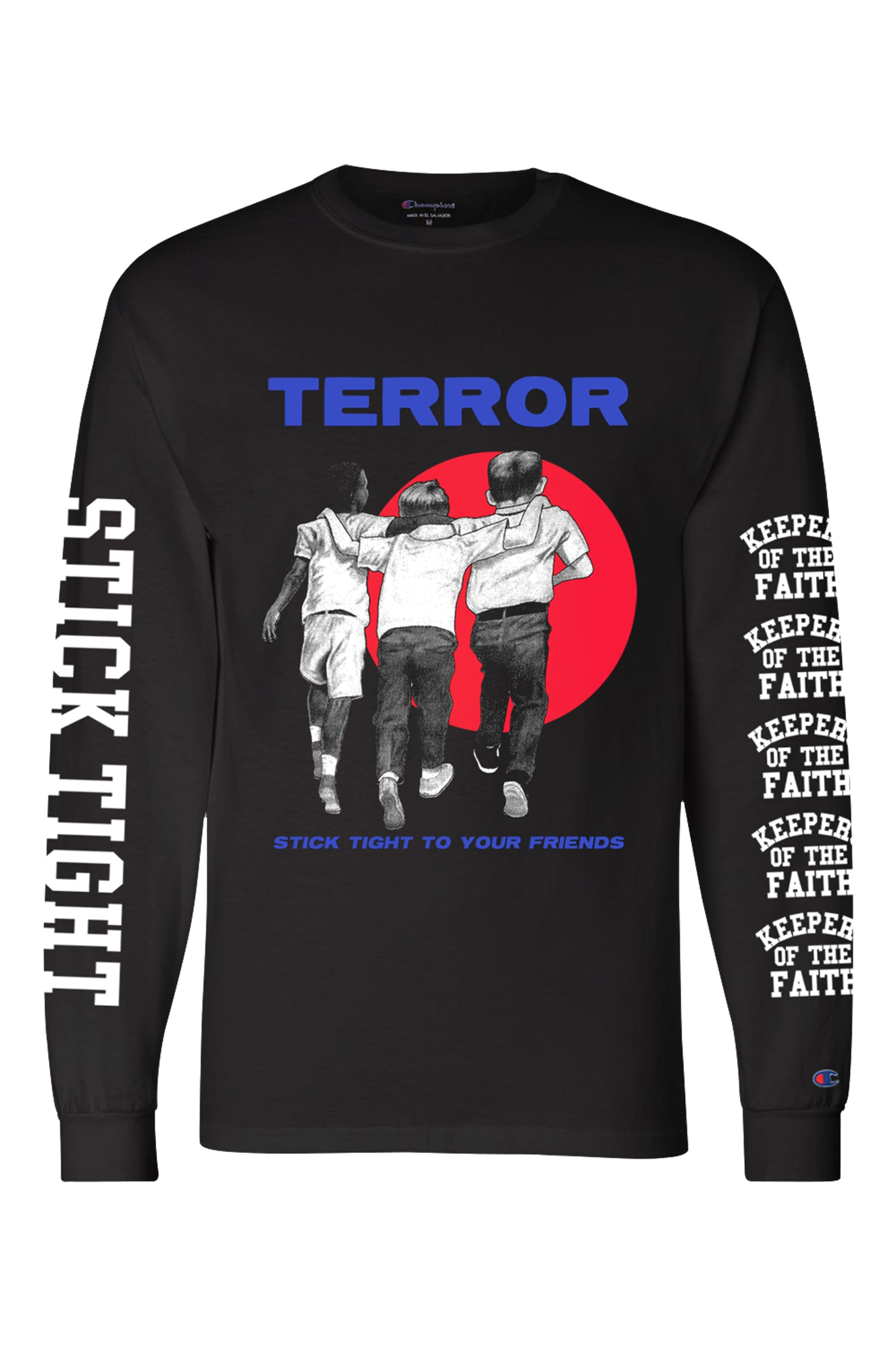 Terror - Stick Tight Champion Longsleeve - Merch Limited