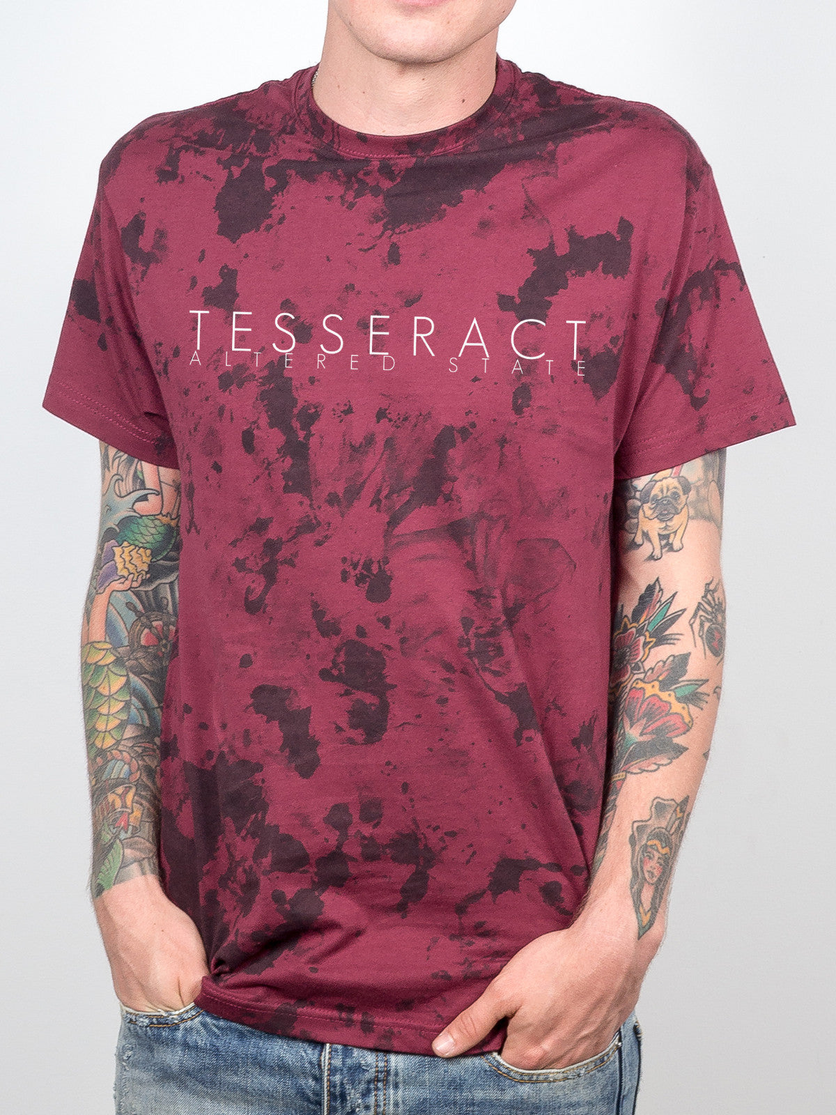 TesseracT - Altered State Dye Shirt - Merch Limited