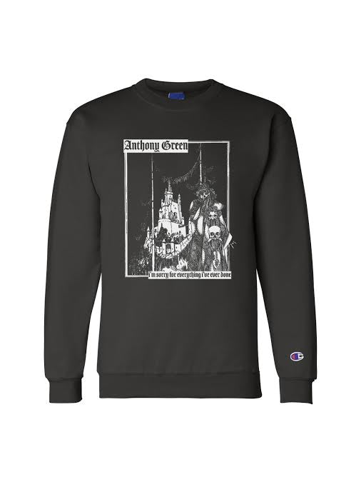 Anthony Green - I'm Sorry Champion Crewneck - Merch Limited
