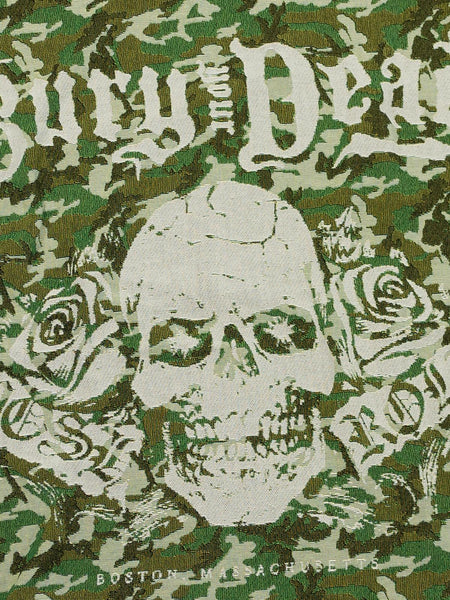 Bury Your Dead - 50x60 Camo Woven Blanket - MerchLimited - 2