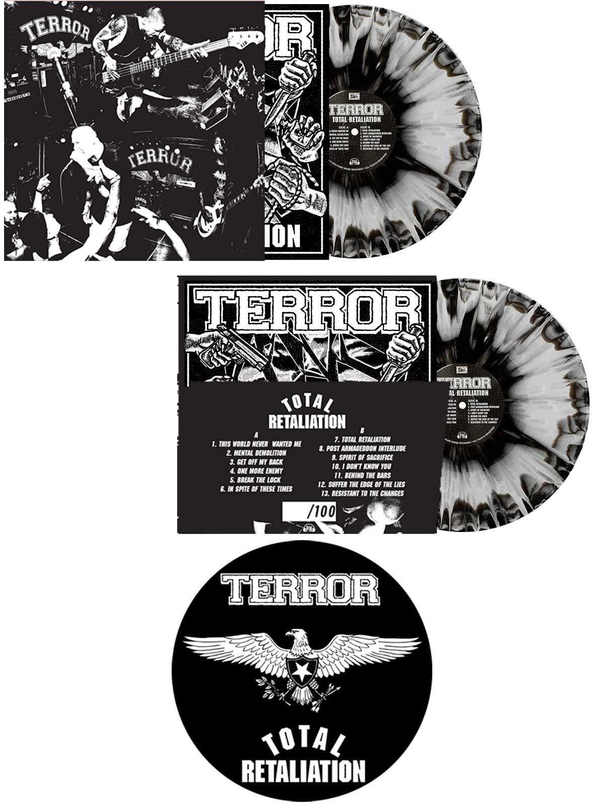Terror - Total Retaliation Slipmat Bundle - Merch Limited
