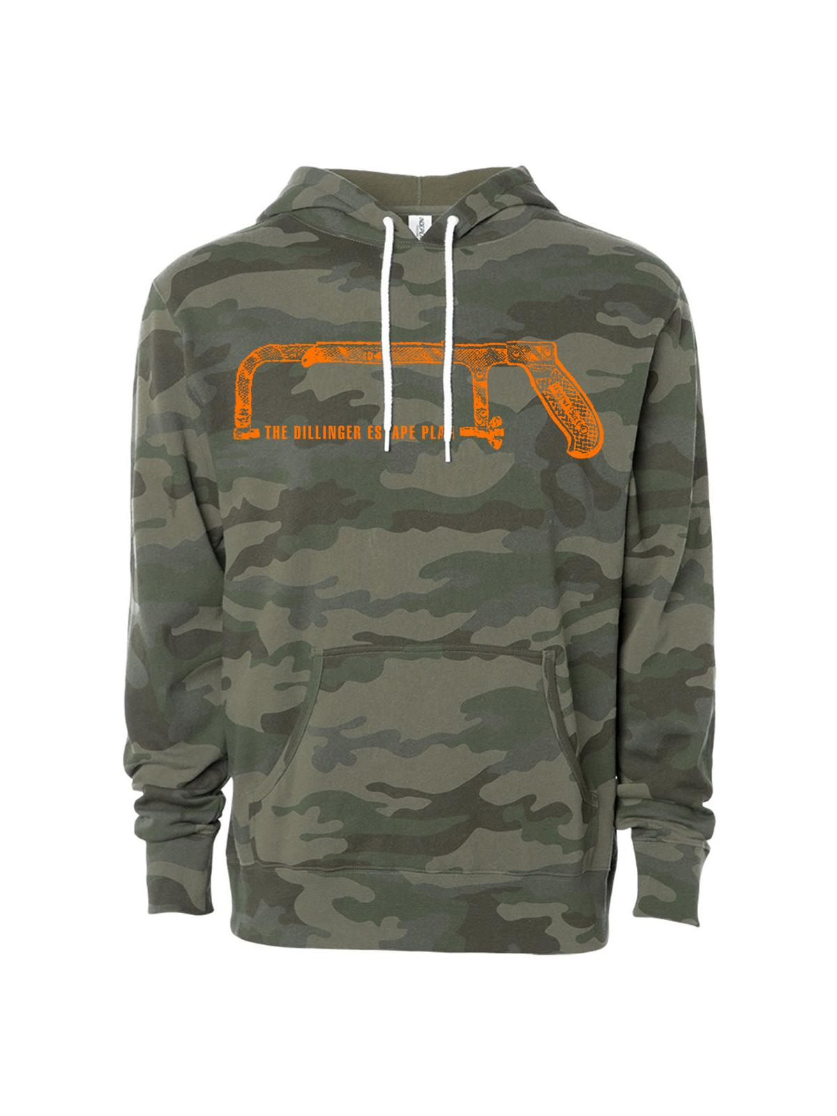 Dillinger Escape Plan - Hacksaw Camo Hoodie - Merch Limited