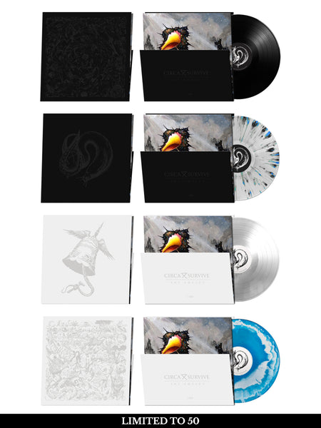 Circa Survive - The Amulet: Vinyl LP Bundle + Free Album Download