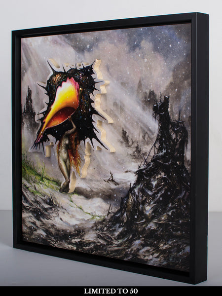 Circa Survive - The Amulet: Wood Print Frame with LP + Free Album Download