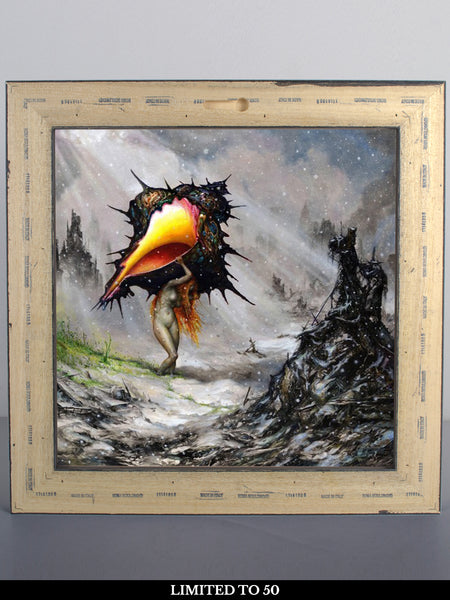 Circa Survive - The Amulet: Wood Print Frame with LP + Free Album Download - Merch Limited