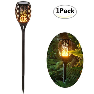 Solar Light With Dancing Flame