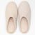 Felted Wool Slippers Cream S/M