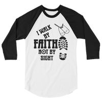 II Corinthians 5:7 For We Walk by Faith, Not by Sight XS-2XL